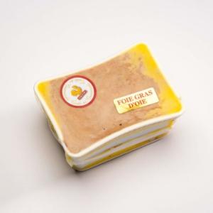 Barquette foie gras oie
