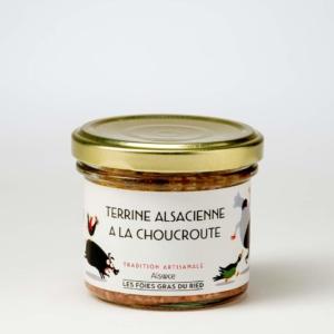 terrine alsacienne a la choucroute