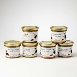 terrines et rillettes foies gras du ried