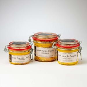 conserves de foie gras de canard
