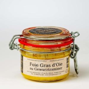 foie gras d'oie au gewurztraminer