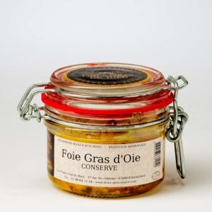 foie gras d'oie conserve