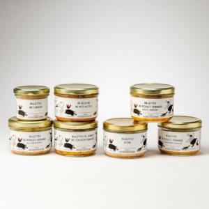 rillettes - foie gras du ried